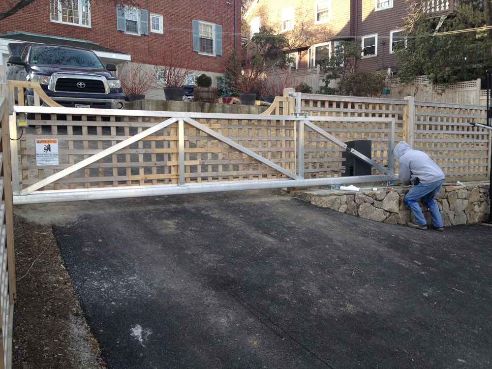 Residential Gate In Massachusetts Duragates The One