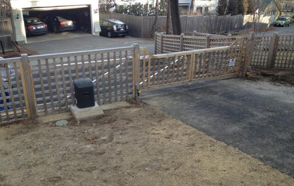 Residential Gate in Massachusetts