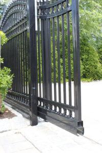 D002 - Bogush Mechanical - Ornamental Steel Sliding Gate 06