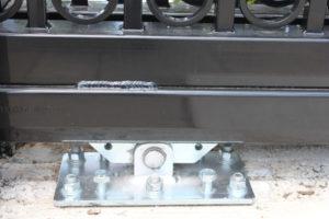 D002 - Bogush Mechanical - Ornamental Steel Sliding Gate 07