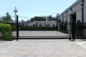 D002 - Bogush Mechanical - Ornamental Steel Sliding Gate 09
