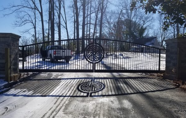 Double Sliding Gate in Georgia