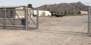 chainlink slide gate