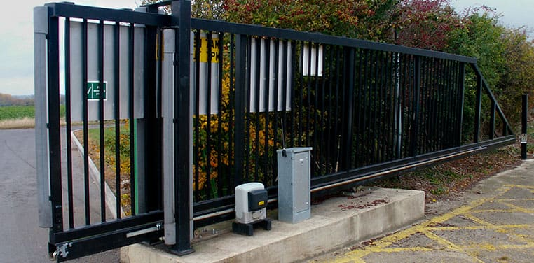How will a Cantilever Slide Gate with an Automatic Gate Opener work for your Business