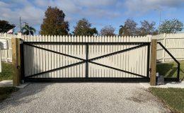 Cantilever Gate (Rear)