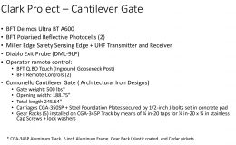 Clark Gate Project-items used