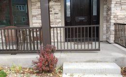 porch gate slightly open