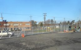 commercial chainlink gate