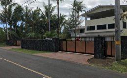 copper sliding gate in hawaii