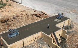 sliding security-gate-foundation