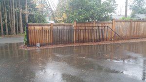 steel sliding gate in WA
